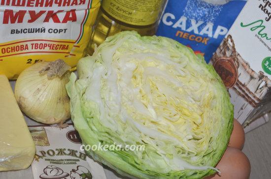 Пирог с капустой в духовке-02