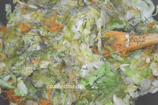 Пирог с капустой в духовке-07