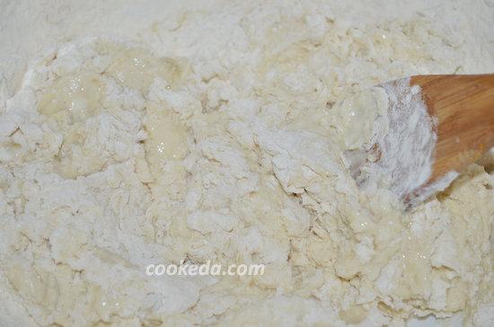 Пирог с капустой в духовке-10
