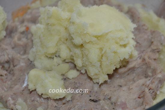 Картофельная запеканка с фаршем-09