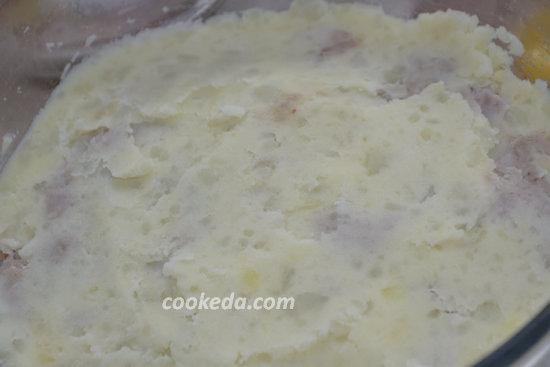 Картофельная запеканка с фаршем-10