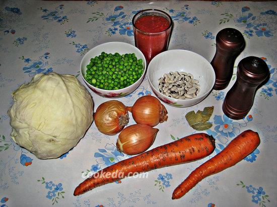 Капуста тушёная с овощами-01