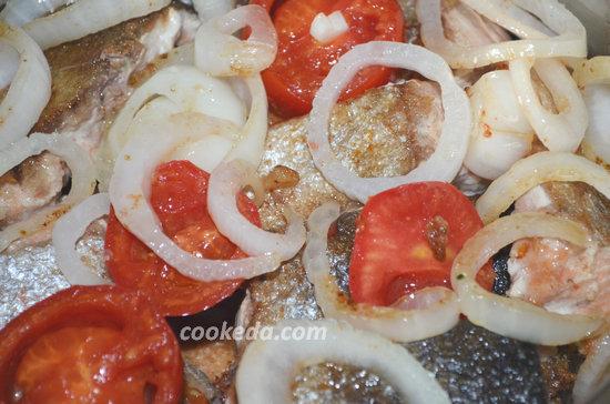Лосось в томатной подливке-08