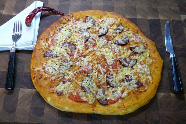 Как сделать пиццу в домашних условиях с тонким тестом