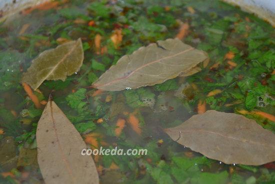 Гороховый суп с бараньей шеей-09