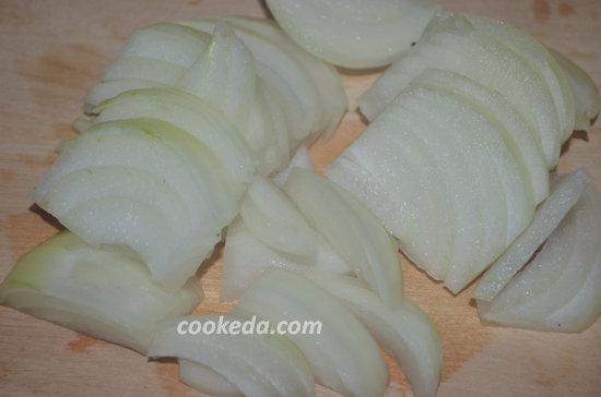 Жареная картошка с грудинкой