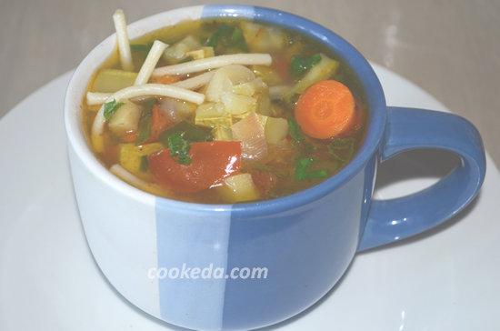 Суп минестроне-01