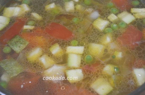 Суп минестроне-09