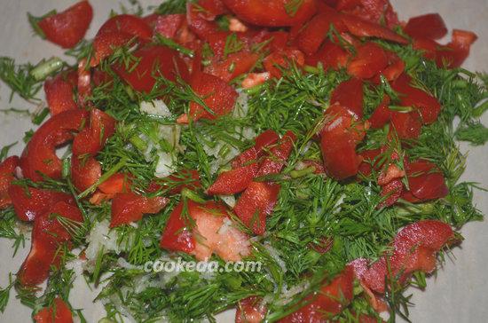 Острая закуска из помидоров-07