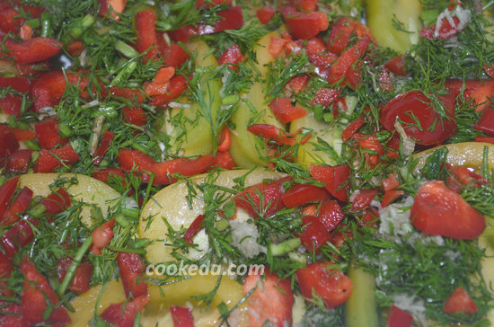 Острая закуска из помидоров-08