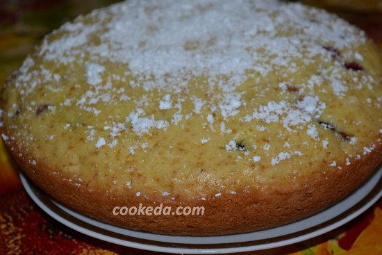 Пирог со смородиной-14