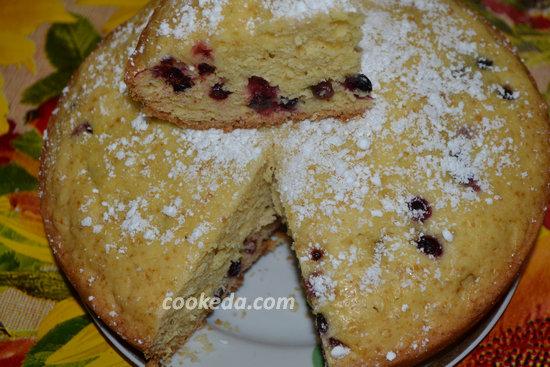 Пирог со смородиной-15