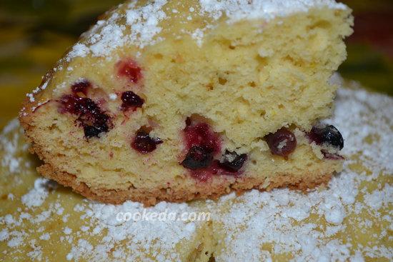Пирог со смородиной-16
