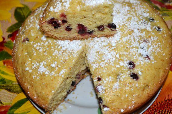 рецепты пирогов со смородиной в мультиварке