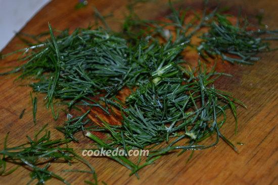 Стручковая фасоль с морковью и чесноком-09