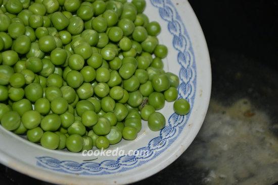 Крем-суп из стручковой фасоли и гороха-05