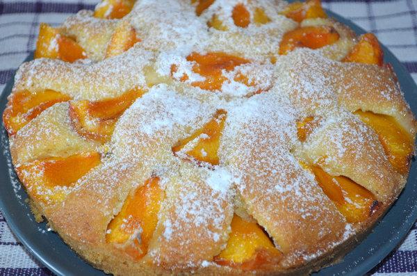 Тирольский пирог с абрикосами