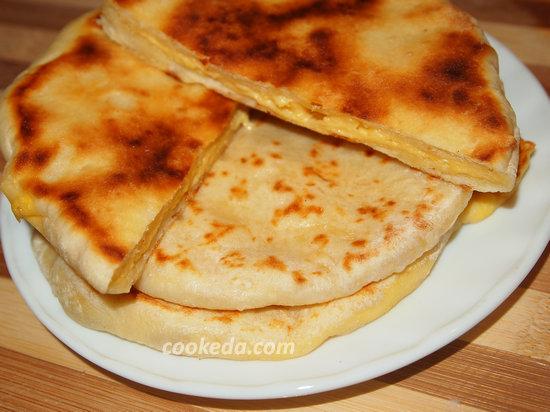 Хачапури с сыром-19