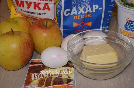 Корнуэльский пирог с яблоками-01