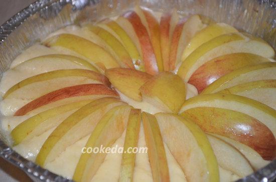Корнуэльский пирог с яблоками-06