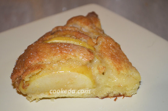 Корнуэльский пирог с яблоками-09