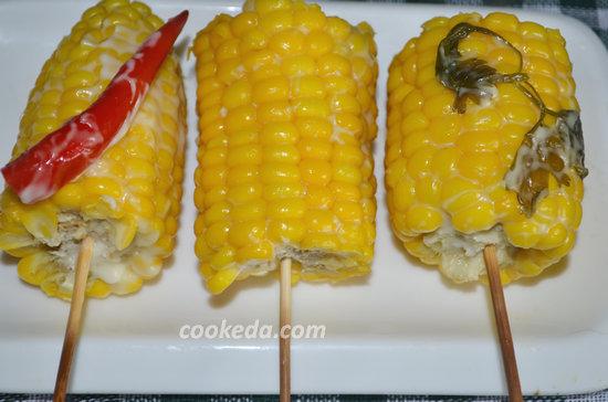 Молодая кукуруза в фольге-08