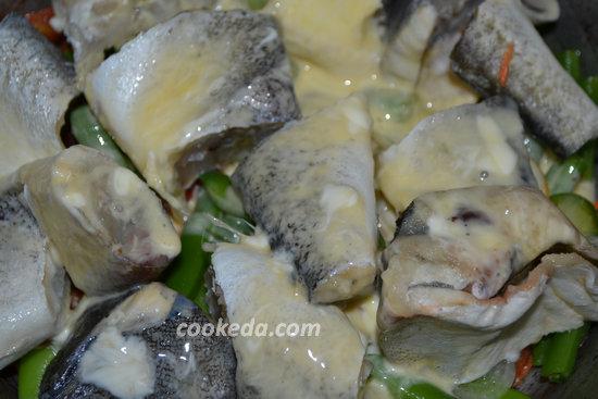 Рыба с овощами в духовке-07