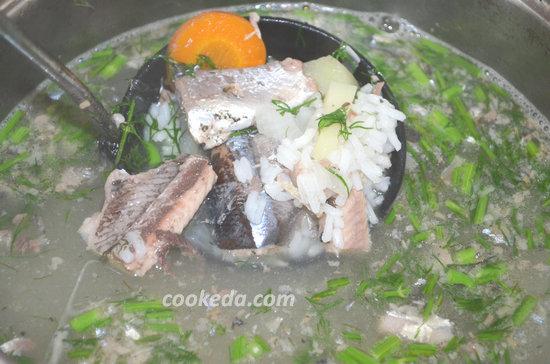 Суп из консервированной сайры-06