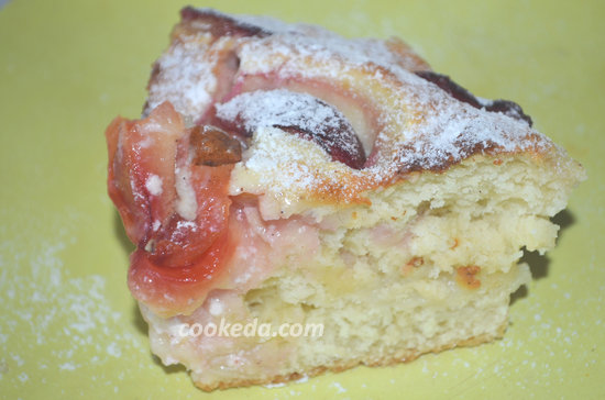 Пирог со сливами-01