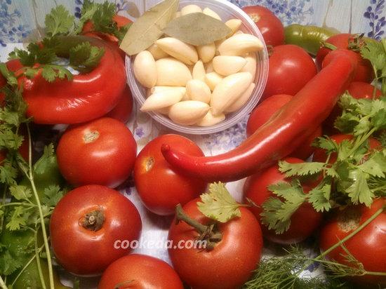 аджика из помидор и чеснока на зиму-03