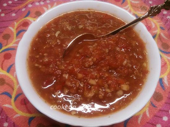 аджика из помидор и чеснока на зиму-13