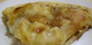 Швейцарский омлет с яблоками