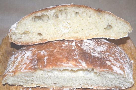 Хлеб Италии. Домашняя чиабатта в духовке-02