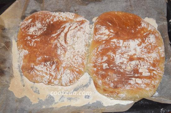 Хлеб Италии. Домашняя чиабатта в духовке-11