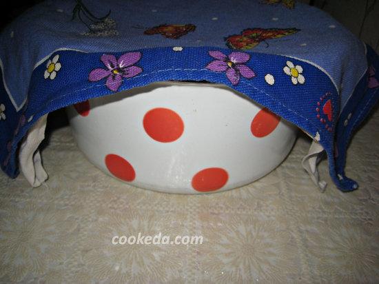 Духовые пирожки с творогом-11