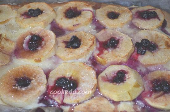Английский пирог с яблоками-12
