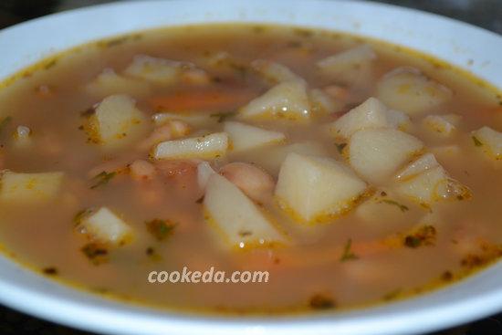 фасолевый суп с бараниной-08