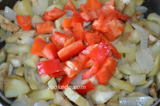 картошка с баклажанами-10