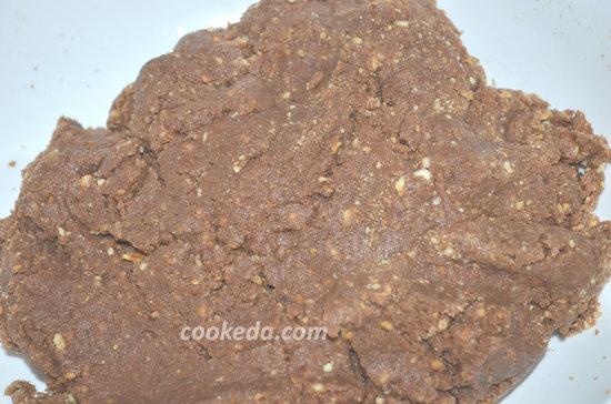 Пирожное картошка из печенья-06