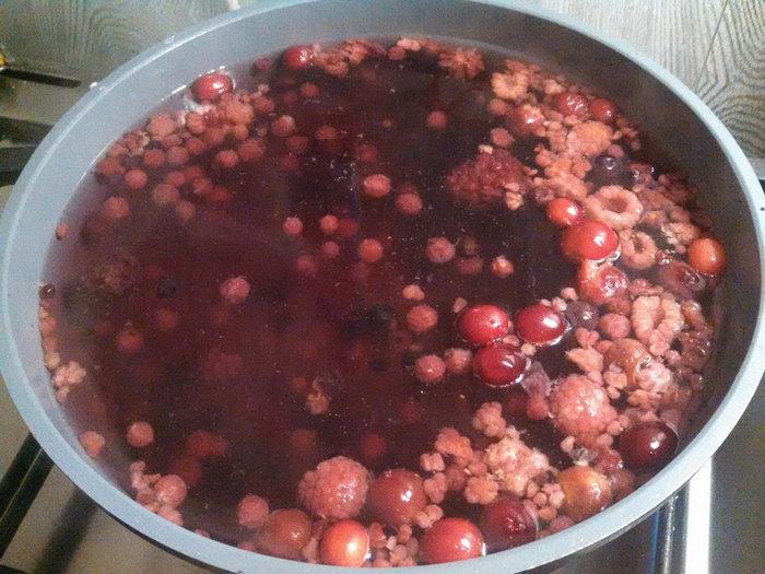 Варим кисель из ягод
