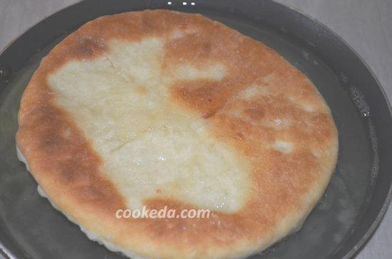 Лепешки с сыром-10