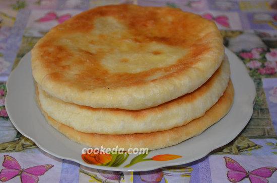 Лепешки с сыром-11