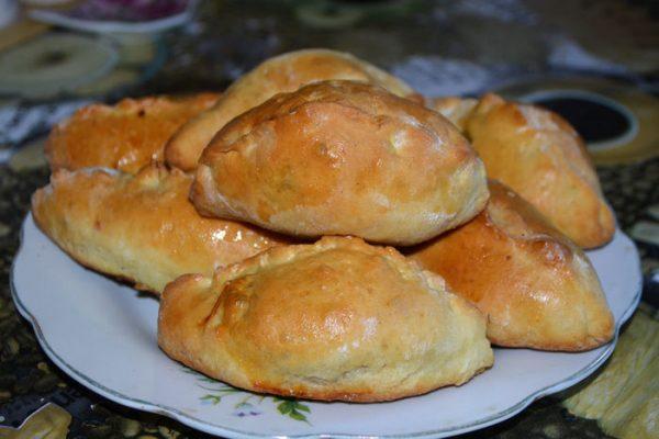 пирожки с ливером в духовке пошаговый рецепт