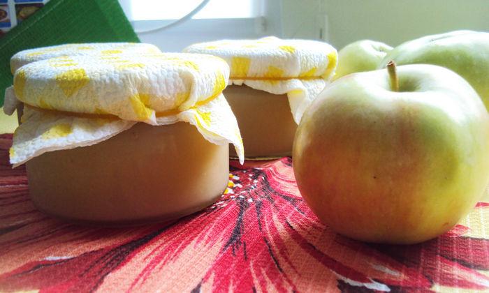 Ароматное пюре из яблок