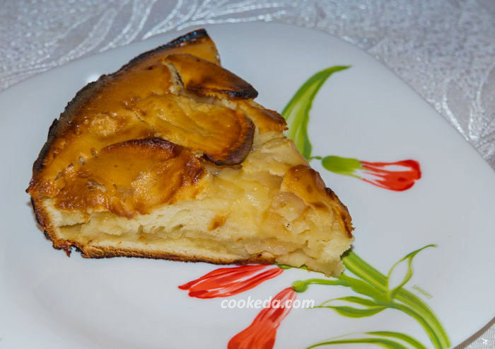 Яблочный пирог шарлотка - готовить 30 минут