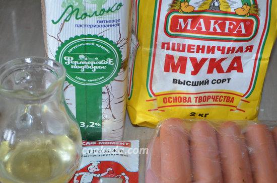 Сосиски в тесте в духовке-01