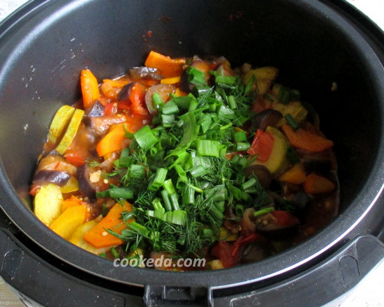 Тушеные овощи-13