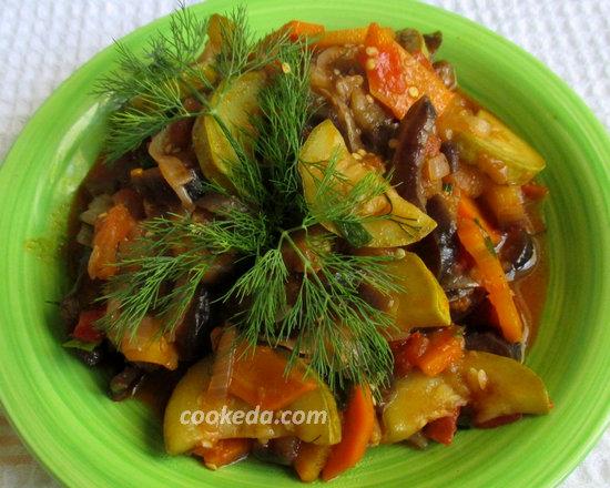 Тушеные овощи-14