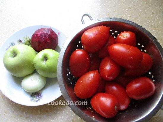 Помидоры в банках на зиму-ингредиенты- мойка овощей