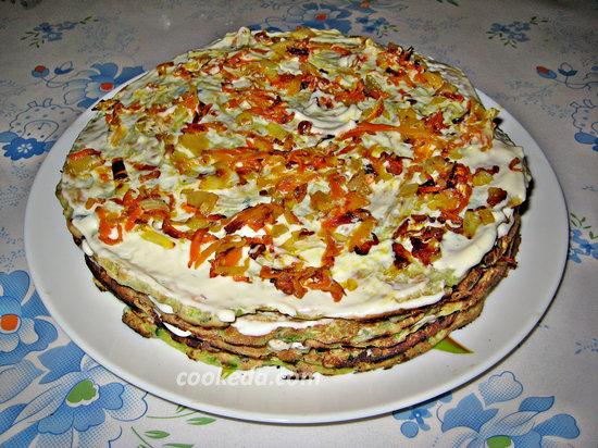Торт из кабачков-20